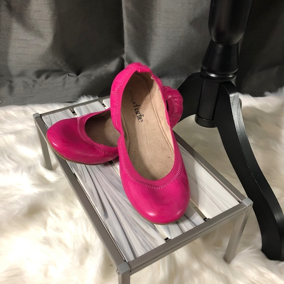 Charming Charlie Shoes - Hot Pink Ballet Slipper Shoes Charming Charlie's